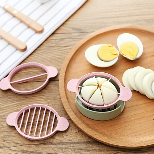 пластик Творческая кухня Гаджет Для Egg Cutter & Slicer