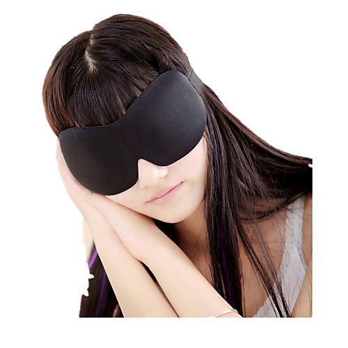 Маска для сна в путешествии 3D Отдых в дороге Бесшовные Воздухопроницаемость 1 комплект для Путешествия аксессуары для сна none 1 3d