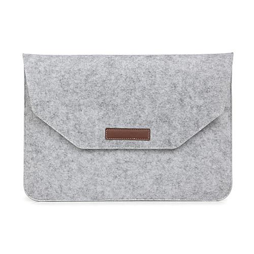 все цены на Рукава Конверт чехол Однотонный текстильный для MacBook Pro, 15 дюймов / MacBook Air, 13 дюймов / MacBook Pro, 13 дюймов онлайн