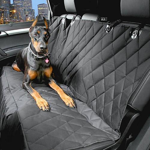 Собака Чехол для сидения автомобиля Животные Корпусы Водонепроницаемость Компактность Черный горки и сидения для ванн luma подставка для купания анатомическая
