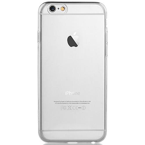 Ультра-тонкий прозрачный чехол для IPhone 6 Plus <br>