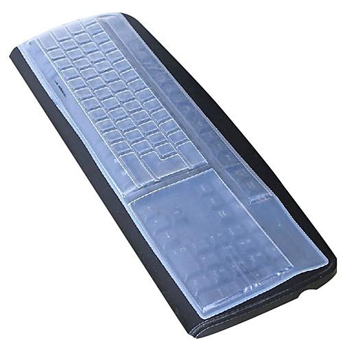 силиконовый настольный компьютер клавиатура крышка 44,5 13 см пылезащитный белый