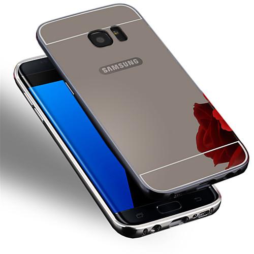 Кейс для Назначение SSamsung Galaxy Samsung Galaxy S7 Edge Покрытие Кейс на заднюю панель Сплошной цвет ПК для S7 edge S7 S6 edge plus S6 лампа f0 f3 l3 s7 s6