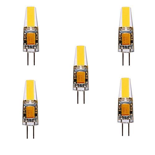 YWXLIGHT 5 шт. 5 Вт. 460 lm G4 Двухштырьковые LED лампы MR11 4 светодиоды COB Водонепроницаемый Декоративная Тёплый белый Холодный белый