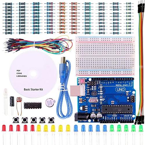 UNO проект базовый комплект стартер с учебника и уно r3 для Arduino фото