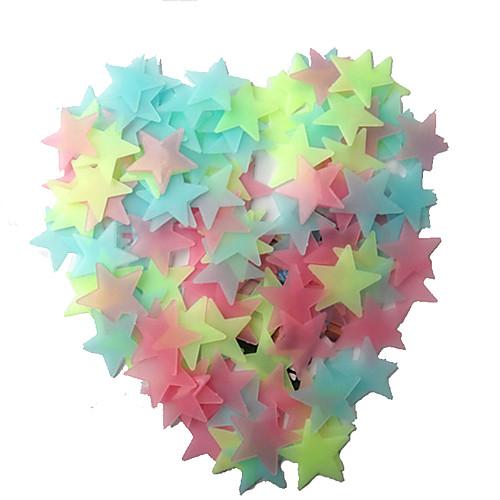 LED освещение Звезда пластик Подарок 100pcs