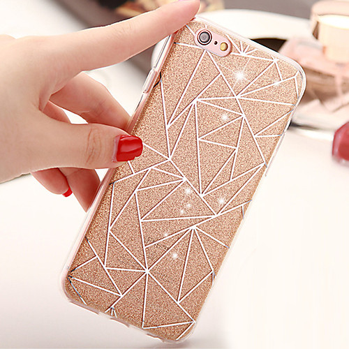 Case For Apple iPhone X / iPhone 8 / iPhone 6 Plus Back Cover Glitter Shine Soft TPU for iPhone X / iPhone 8 Plus / iPhone 8