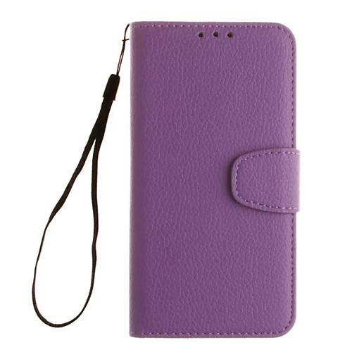 Кейс для Назначение SSamsung Galaxy Кейс для Samsung Galaxy Бумажник для карт Кошелек со стендом Флип Чехол Сплошной цвет Мягкий Кожа PU клип кейс ibox fresh для samsung galaxy s5 mini черный
