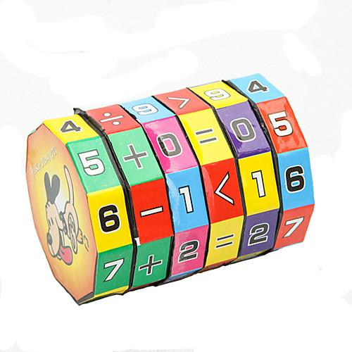 Игрушки для обучения математике Обучающая игрушка Игрушки Экологичные Цилиндрическая пластик Классика Куски Детские Подарок