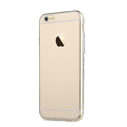 Кейс для Назначение iPhone 6s Plus iPhone 6 Plus Apple iPhone 6 Plus Кейс на заднюю панель Мягкий ТПУ для iPhone 6s Plus iPhone 6 Plus