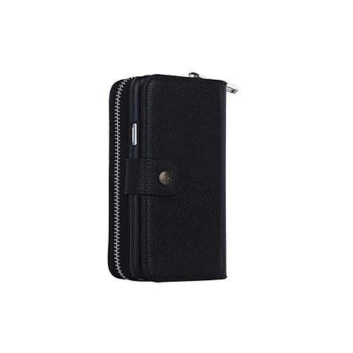 Купить со скидкой Для Кейс для  Samsung Galaxy Чехлы панели Кошелек Бумажник для карт Магнитный Чехол Кейс для Один цв