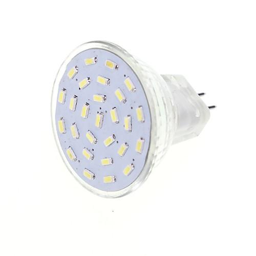 SENCART 2.5W 3000/6000lm G4 / GU4(MR11) Точечное LED освещение MR11 27 Светодиодные бусины SMD 3014 Декоративная Тёплый белый / Холодный цена