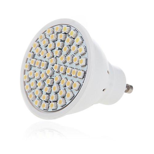1шт 5W 350lm GU10 GU5.3 Точечное LED освещение 60 Светодиодные бусины SMD 2835 Декоративная Тёплый белый Холодный белый 220-240V цена