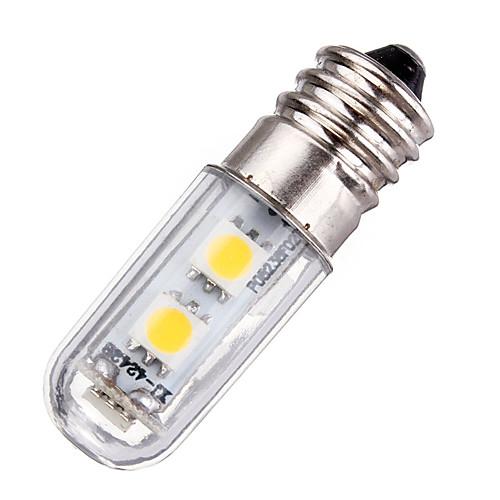 1W 420lm E14 LED лампы типа Корн T 77 Светодиодные бусины SMD 5050 Декоративная Тёплый белый Холодный белый 220-240V