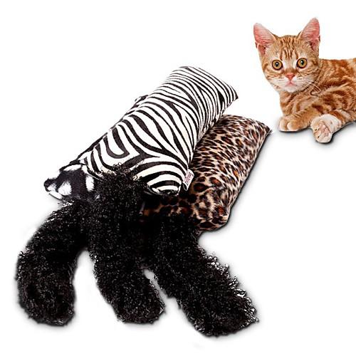 Игрушки-приманки Дразнилки для кошек Когтеточка Матовый черный текстильный губка Назначение Кошка Котёнок