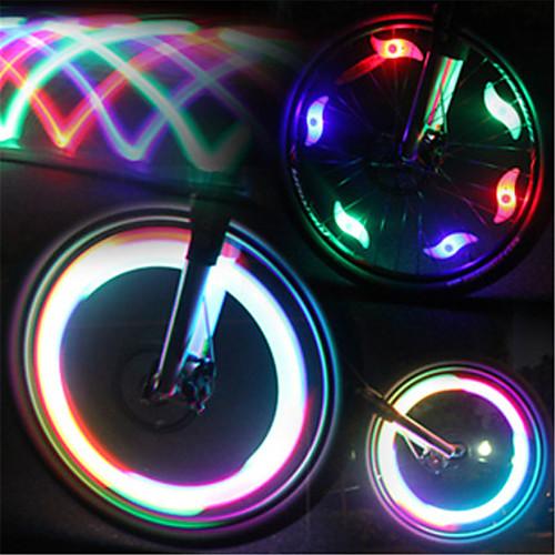Велосипедные фары / Колесные огни / колесные огни Светодиодная лампа Велоспорт Водонепроницаемый / Светодиодная лампа Люмен Батарея Велосипедный спорт колесные диски n2o y4925 6x15 5x114 3 d66 1 et43 w