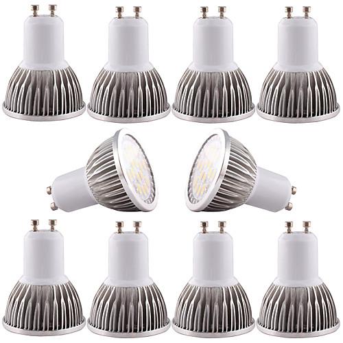 4W GU10 GU5.3(MR16) E26/E27 Точечное LED освещение MR16 16 SMD 5730 350-400 lm Тёплый белый Холодный белый 3000-6500 К Диммируемая цена