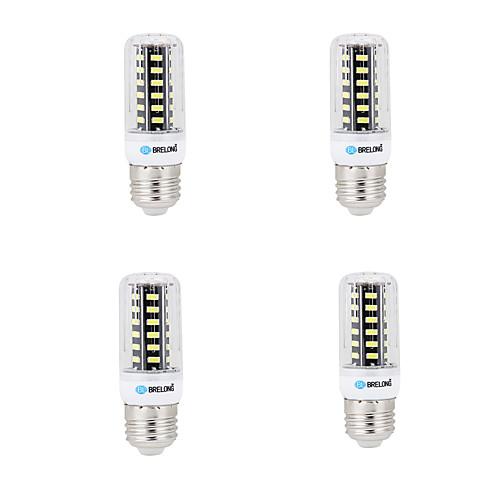 BRELONG 4шт 4W 400lm E14 G9 GU10 E26 B22 LED лампы типа Корн B 42 Светодиодные бусины SMD 5733 Декоративная Тёплый белый Холодный белый цена
