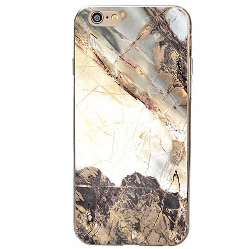 Для Кейс для iPhone 7 Кейс для iPhone 6 Кейс для iPhone 5 С узором Кейс для Задняя крышка Кейс для Мрамор Мягкий TPU для AppleiPhone 7
