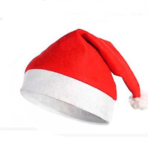 Товары для Рождественской вечеринки Шапка Санты Костюм Санты Игрушки текстильный Взрослые 1 Куски вельветовый мешок для санты uni