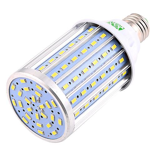 YWXLIGHT 22W 2000-2200lm E26 / E27 LED лампы типа Корн T 102 Светодиодные бусины SMD 5730 Декоративная Тёплый белый Холодный белый цена