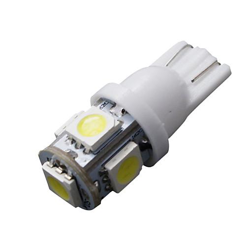 SO.K 10 шт. T10 Автомобиль Лампы 5W 160lm Светодиодная лампа Внутреннее освещение лампы освещение