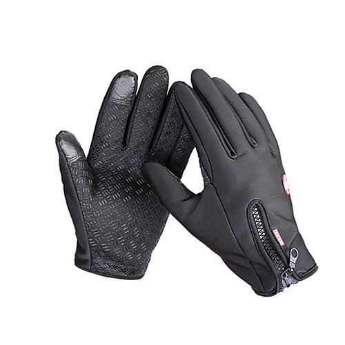 Перчатки для сенсорного экрана Лыжные перчатки Перчатки для велосипедистов Муж. Жен. Полный палец Сохраняет тепло Водонепроницаемость С