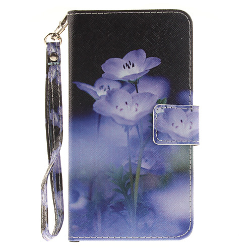 Кейс для Назначение LG G3 LG K8 LG LG K10 LG K7 LG G5 LG G4 Кейс для LG Бумажник для карт Кошелек со стендом Флип С узором Чехол Цветы кейс для назначение lg lg k4 lg k10 lg k7 lg g5 lg g4 кейс для lg бумажник для карт кошелек стразы со стендом флип рельефный чехол цветы
