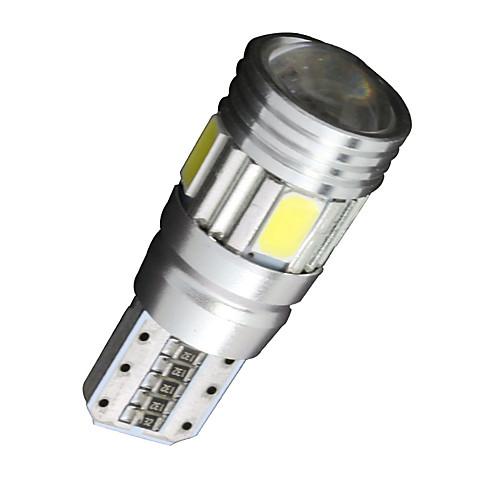 SO.K 10 шт. T10 Автомобиль Лампы 2 W SMD 5630 200 lm 6 Светодиодная лампа Лампа поворотного сигнала For Универсальный цена