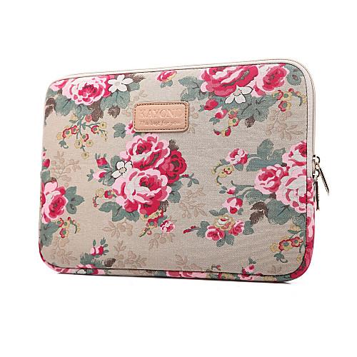 Рукава Чехол Цветы текстильный для MacBook Pro, 15 дюймов / MacBook Air, 13 дюймов / MacBook Pro, 13 дюймов