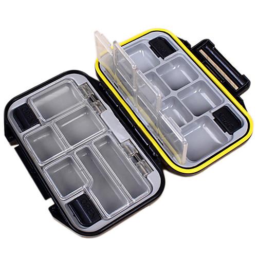 Коробки для рыболовных снастей Коробка для рыболовной снасти Водонепроницаемый Многофункциональный 1 Поднос пластик Металл 3 11.5