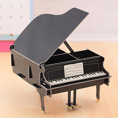 DIY Cardboard Desktop Storage Box(Piano)