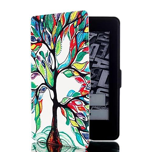 Кейс для Назначение Amazon Kindle Полноразмерные чехлы Чехол Сплошной цвет Твердый Кожа PU для чехлы для телефонов with love moscow силиконовый дизайнерский чехол для meizu m3s перья