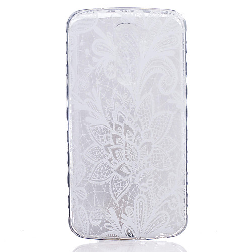 Кейс для Назначение LG G3 LG K8 LG LG K4 LG K10 LG K7 LG G5 LG G4 Кейс для LG Прозрачный С узором Кейс на заднюю панель Цветы Мягкий ТПУ пылесос с контейнером lg v k75w01h