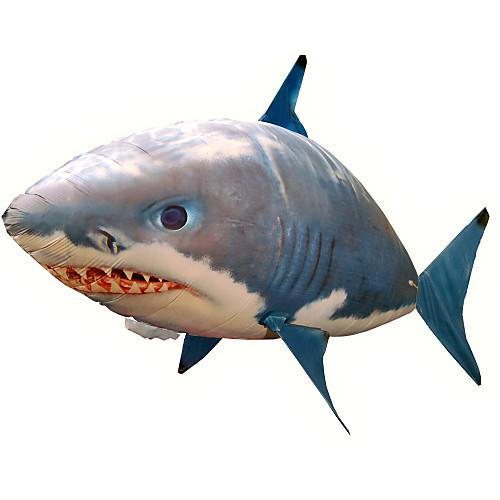 Акула на пульте / Животное на пульте управления / Летающая акула Клоун Фиш Надувной / Реалистичное движение / Воздушный пловец Нейлон 1