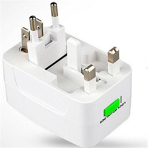 Зарядное устройство для дома / Портативное зарядное устройство Зарядное устройство USB Стандарт США / Евро стандарт / Стандарт Великобритании 1 USB порт 3.1 A для / Стандарт Австралии стандарт сша