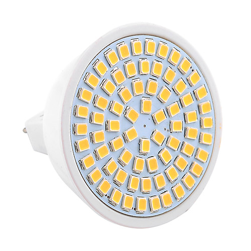 YWXLIGHT 7W 600-700lm GU5.3(MR16) Точечное LED освещение MR16 72 Светодиодные бусины SMD 2835 Декоративная Тёплый белый Холодный белый