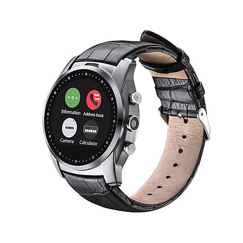 Smartwatch for iOS / Android Water Resistant Timer / Stopwatch / Activity Tracker / Sleep Tracker / Heart Rate Monitor / 0.3 MP / Hands-Free Calls / Media Control / Message Control / Camera Control