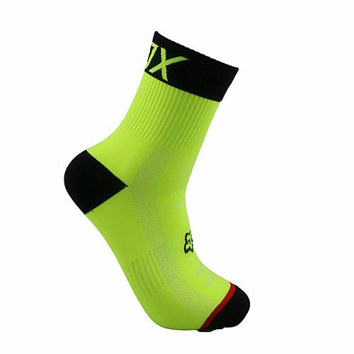 Толстые короткие носки / Спортивные носки / спортивные носки Велоспорт Носки Муж. Футбол / Велосипедный спорт / Велоспорт Пригодно для folk короткие носки