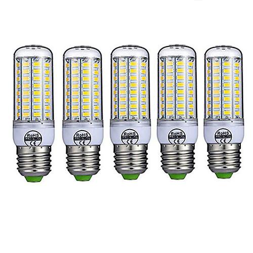 5 шт. 10W 980lm E26 / E27 LED лампы типа Корн T 72 Светодиодные бусины SMD 5730 Декоративная Тёплый белый Холодный белый 220-240V цена