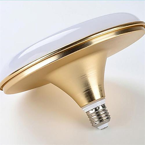 1шт 30 W Круглые LED лампы 1500-1600 lm E26 / E27 60 Светодиодные бусины SMD 5730 Водонепроницаемый Декоративная Холодный белый 175-265 V / 1 шт. / RoHs фото