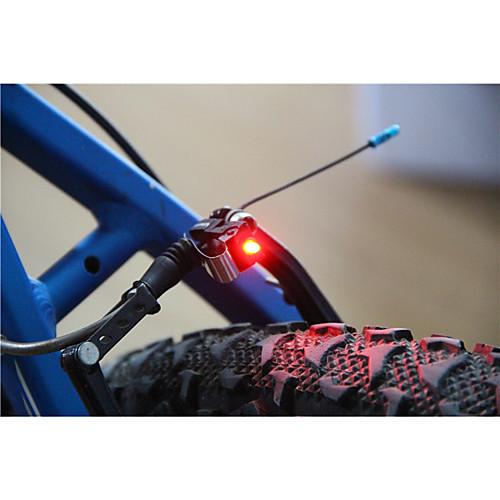 Задняя подсветка на велосипед / огни безопасности / задние фонари Светодиодная лампа LED Велоспорт Маленький размер, Очень легкие С-клеток 100 lm Батарея Велосипедный спорт
