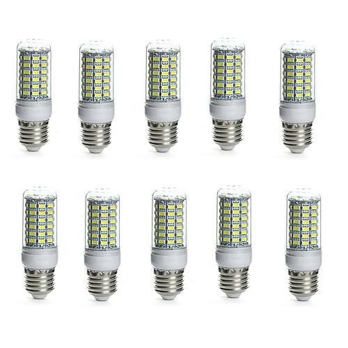 10 шт. 10 W 850-950 lm E14 / G9 / GU10 LED лампы типа Корн Трубка 69 Светодиодные бусины SMD 5730 Водонепроницаемый / Декоративная Тёплый цена