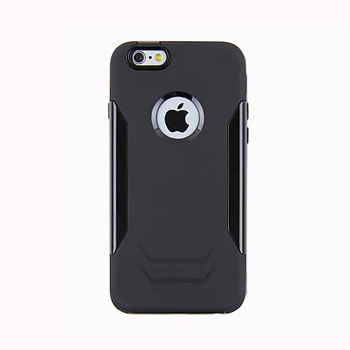 Кейс для Назначение Apple iPhone 6 iPhone 6 Plus Защита от удара Кейс на заднюю панель броня Твердый Металл для iPhone 6s Plus iPhone 6s