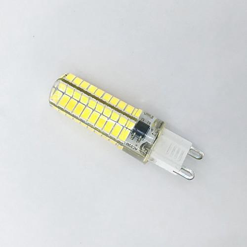 4W 400-500lm G9 LED лампы типа Корн T 80LED Светодиодные бусины SMD 5730 Декоративная Тёплый белый Холодный белый 110-130V 220-240V