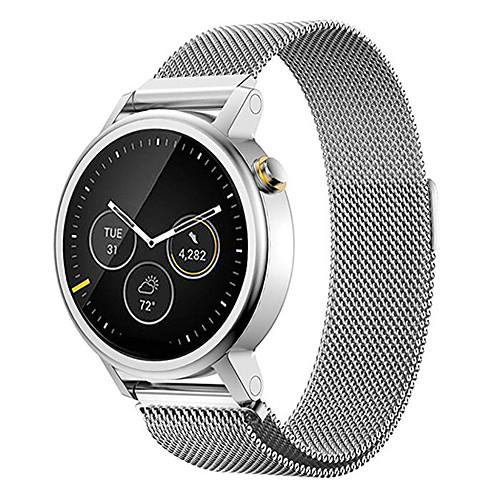 Ремешок для часов для Мото 360 Motorola Миланский ремешок Нержавеющая сталь Повязка на запястье