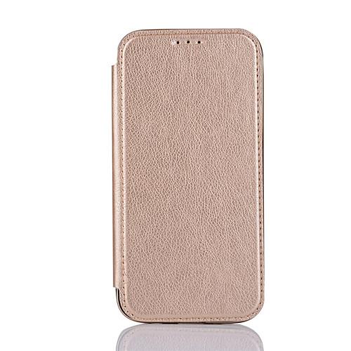Кейс для Назначение SSamsung Galaxy S7 edge S7 Бумажник для карт Флип Чехол Сплошной цвет Твердый Кожа PU для S7 edge S7 S6 edge S6 лампа f0 f3 l3 s7 s6