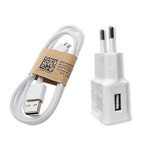 Зарядное устройство для дома / Портативное зарядное устройство Зарядное устройство USB Евро стандарт Быстрая зарядка 1 USB порт 1 A для фото