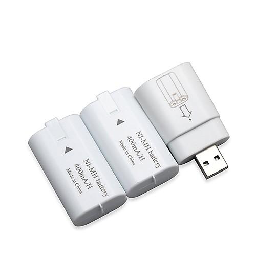 USB Батареи и зарядные устройства - Один Xbox Перезаряжаемый Оригинальные Проводной 19-24 ч.