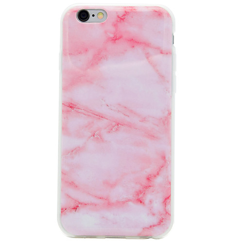 Case For Apple iPhone 8 / iPhone 8 Plus / iPhone 7 IMD Back Cover Marble Soft TPU for iPhone 8 Plus / iPhone 8 / iPhone 7 Plus